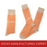 Qualität der Kamm-Baumwollfreizeit-Socke der Männer