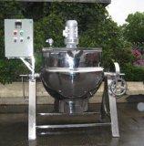 De Beklede Ketel van het roestvrij staal (de Pot van het Jasje, het Kooktoestel van de Stoom, de Machine van het Voedsel