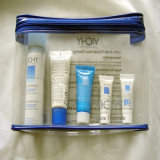 OEM rígido PVC Traveling Cosmetic Skin Care Bag Case