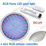 Pool-Licht des Schrauben-Terminal-LED PAR56. 12V, Single- weißes IP68, rot, grün, blau, Gelb