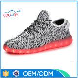 Chaussures de course supérieures en gros Yeezy de Flyknit 350 chaussures occasionnelles extérieures