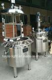 Haut-Sahne, die Maschine mit Heizung herstellt