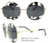 2016の製品の方法ブランドミラーの円形の女性の発注のサングラス