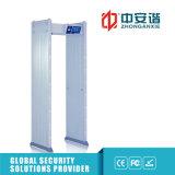 100 Niveles de seguridad de sonido de alarma del detector de metales impermeable al aire libre para la Exposición