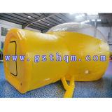 Beste Qualitätsaufblasbares Luftblasen-Hütten-Zelt/aufblasbares transparentes Zelt