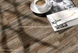 azulejo de suelo de madera del grano de la inyección de tinta 3D 150*600 Rda16028