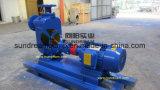 Grande pompa ISO9001 delle acque pulite di flusso dello ZW certificata