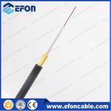 Da fibra blindada de vidro do fio do revestimento do PE cabo ótico (GYFXY-2)