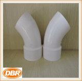 Producto plástico de Dwv 2 pulgadas codo de la calle de 45 grados