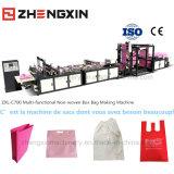 Saco não tecido quente da caixa 2016 que faz a máquina Zxl-C700