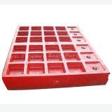 Metso Shanbao Pegson Kiefer-Platte für Kiefer-Zerkleinerungsmaschine