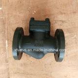 Valvola di ritenuta d'acciaio forgiata standard del pistone dell'estremità del collegamento della flangia di BACCANO