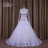 Выполненное на заказ длиннее платье невесты шарика lhbim втулок