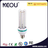 透過か明確なまたは曇らされるか、または乳白色カバー涼しい白LEDのトウモロコシの球根ライト