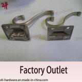 Крюки кота вешалки одежд двойника конструкции сплава цинка красивейшие (ZH-2031)
