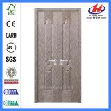 Portas de madeira niveladas internas claras laminadas da cozinha do folheado (JHK-020)