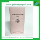 Rectángulo de empaquetado de papel rígido con la impresión de la insignia para la crema del Bb