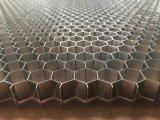 Âmes en nid d'abeilles en aluminium ferroviaires