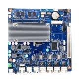 Fanless Intel原子D2550のマザーボード4*Intel 1000m RJ45 LANファイアウォールのマザーボード