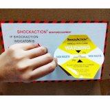 Las escrituras de la etiqueta económicas del indicador del choque del transporte protegen el conjunto médico