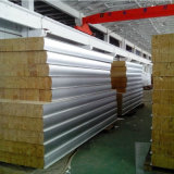 панель сандвича 50mm/75mm/100mm/150mm/200mm Rockwool для Cleanroom