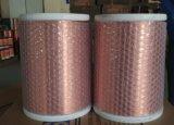 Fio de alumínio folheado de cobre do enrolamento Swg42