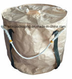 Grand sac bleu du tissu FIBC