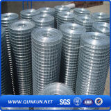 亜鉛めっきを用いる溶接された鋼線の網
