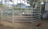 둥근 가로장 가축 가축 가축 방목장 담 위원회
