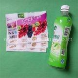 Étiquette de rétrécissement de PVC pour la bouteille de boisson