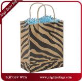 Saco de papel dos clientes do azul selvagem além/saco de compra/caixa de presente & saco/saco de papel do portador com o punho na qualidade super