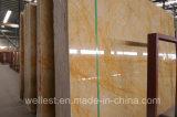 Laje de mármore dourada e telha de M729 Emperador da pedra de Wellest