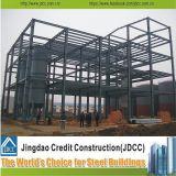 Edificio de la fábrica de acero