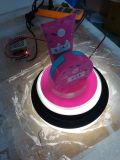 신식 전람 LED 아크릴 메이크업 전시