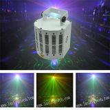 Indicatore luminoso di effetto di farfalla del laser del Derby LED