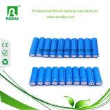 Lithium-Sammlerzellen 18650 3.7V 2000 2200 2600mAh für Taschenlampe