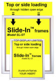 Алюминиевая рамка плаката, &ndash рамки стены; &ndash индикации плаката; Canaframe