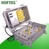 5-862MHz gain 30dB vers l'avant et amplificateur renversé de 12dB CAG pour le réseau de CATV
