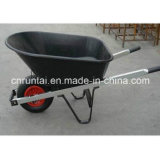 Wheelbarrow pneumático da roda do Sell quente grande da bandeja (WB7801)