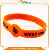 Wristband Eco-Friendly por atacado personalizado do silicone