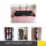Micrófono sin hilos de la frecuencia ultraelevada del profesional para el funcionamiento al aire libre