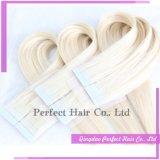 Estensioni dei capelli del nastro del commercio all'ingrosso dei capelli dell'europeo di 100%