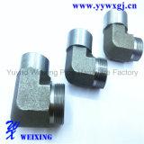 Ajustage de précision hydraulique d'acier inoxydable de coude de garnitures hydrauliques de soudure