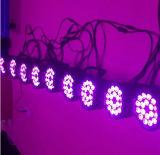 18PCS 15W IP65 a prueba de agua de la etapa LED PAR Can Luz