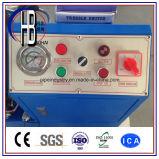 Máquina de engate de borracha hidráulica de 1/4 de polegada a 2 polegadas