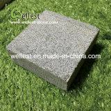 G654は私道/庭/テラスのための花こう岩の立方体の敷石を炎にあてた