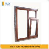 Metallo Windows di vetro di girata & di inclinazione per materiale da costruzione