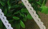 Lacet de forme de dent de crabot de qualité pour DIY
