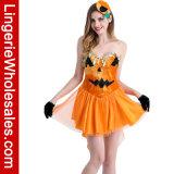 Halloween-Partei-Kürbis-Fantasie Cosplay Kostüm der Frauen reizvolles