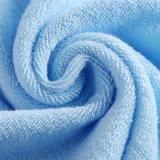 Il tovagliolo 100% di fronte del cotone con le azione può marchio del cliente del ricamo